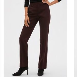 Banana Republic Factory Logan Brown Trousers